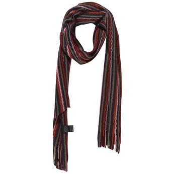 Pruhovaný šál bata, červená, 909-5368 - 13