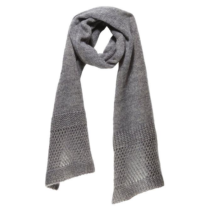 Pletený šál bata, šedá, 909-2374 - 13