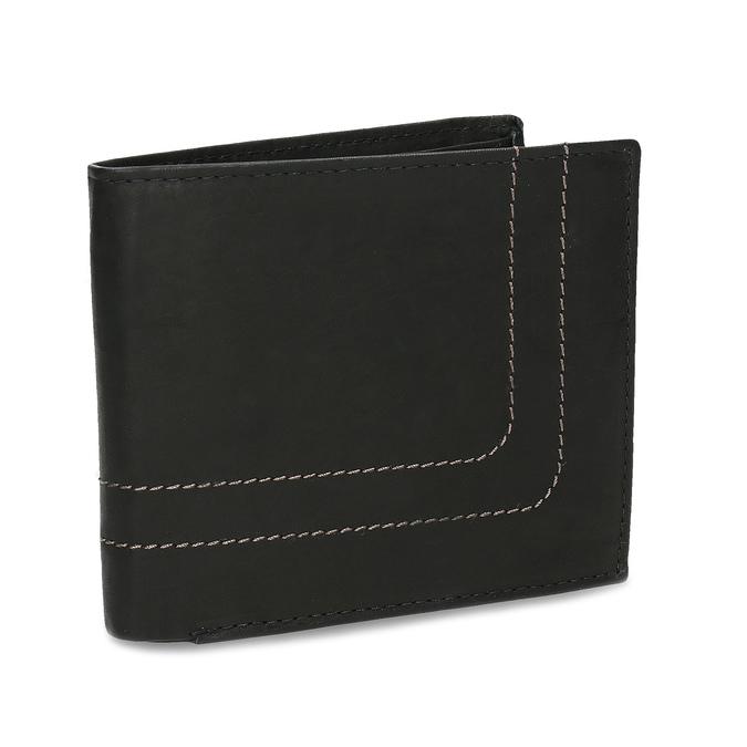 Pánská kožená peňaženka bata, čierna, 944-6147 - 13