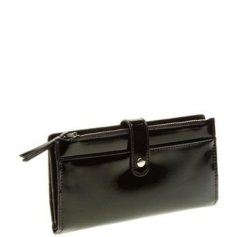 Dámská čierna peňaženka bata, čierna, 941-6129 - 13