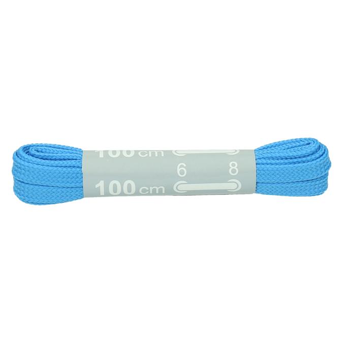 Farebné šnúrky bata, modrá, 999-9466 - 13