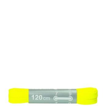 Farebné šnúrky bata, žltá, 999-8266 - 13