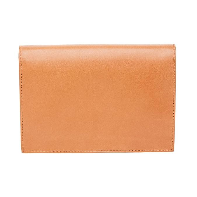 Kožená peňaženka s prackou vagabond, hnedá, 944-4119 - 26