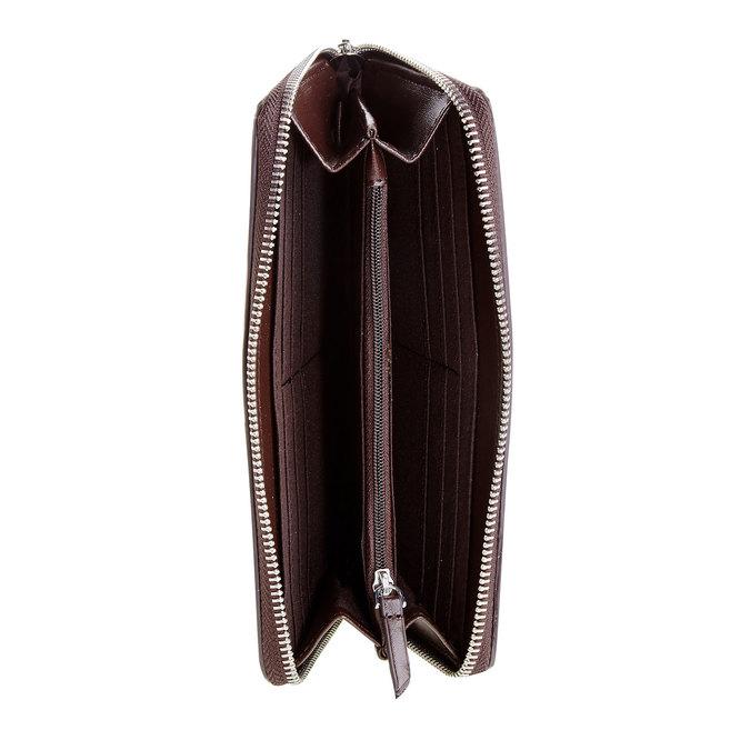 Dámska peňaženka s perforáciou bata, biela, 941-1131 - 16