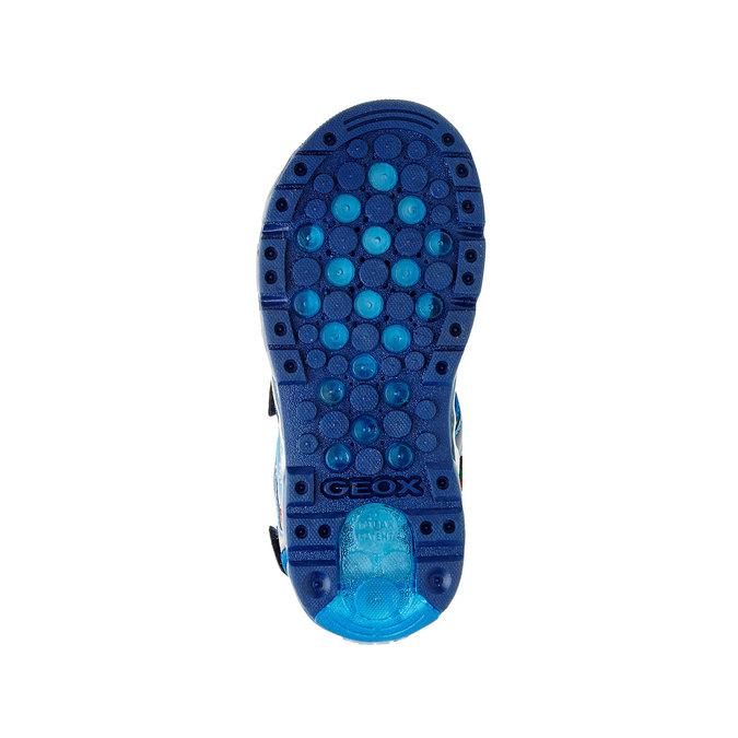 Detské sandále geox, modrá, 361-9103 - 26