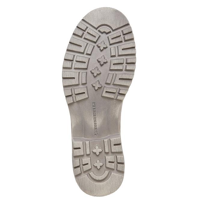 Kožená členková obuv weinbrenner, béžová, 596-8405 - 26