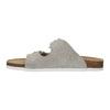 Dámske kožené papuče de-fonseca, béžová, 573-8620 - 26