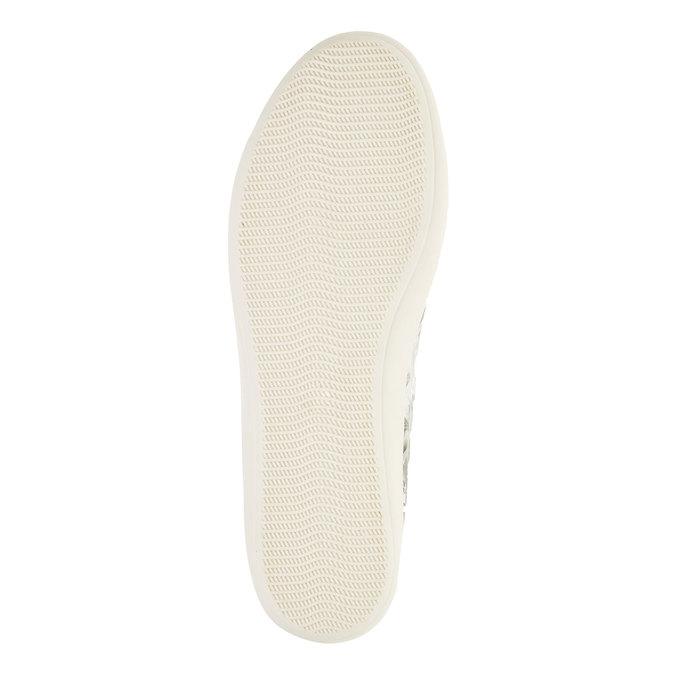 Kožené členkové tenisky bata, biela, 526-1130 - 26