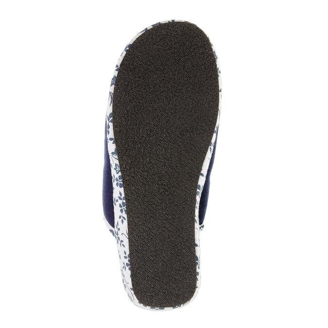 Dámska domáca obuv, modrá, 579-9246 - 26
