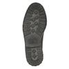 Kožené poltopánky s výraznou podrážkou bata, hnedá, 826-4641 - 26