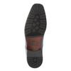 Pánske kožené poltopánky bata, modrá, 824-9669 - 26