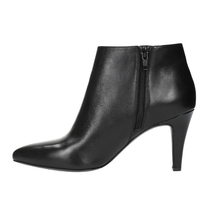 Dámska členková obuv insolia, čierna, 794-6629 - 26