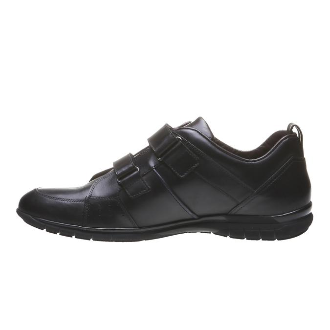 Kožené tenisky bata, čierna, 814-6344 - 15