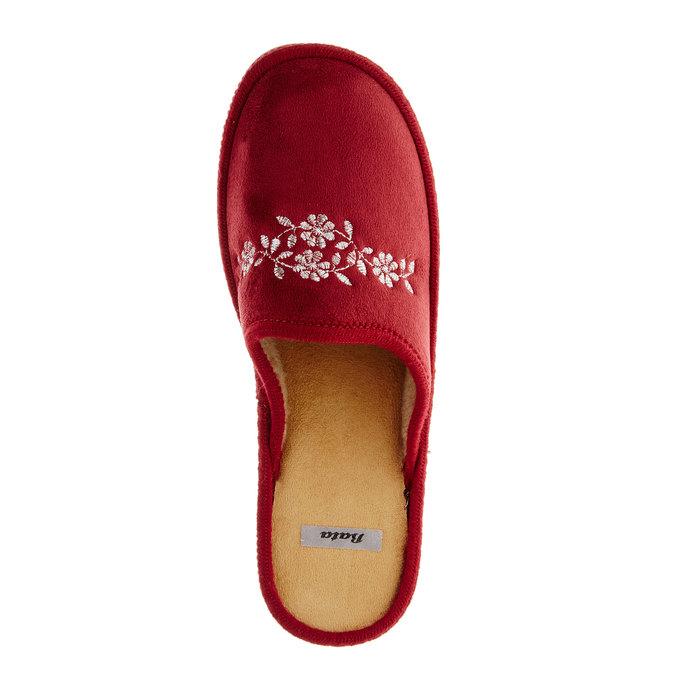 Dámska domáca obuv bata, červená, 579-5233 - 19