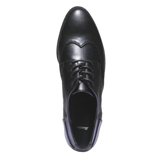 Dámske poltopánky bata, čierna, 521-6103 - 19