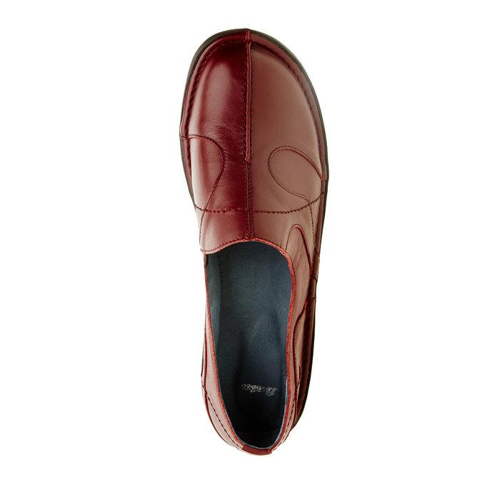 5565100 bata, červená, 556-5100 - 19