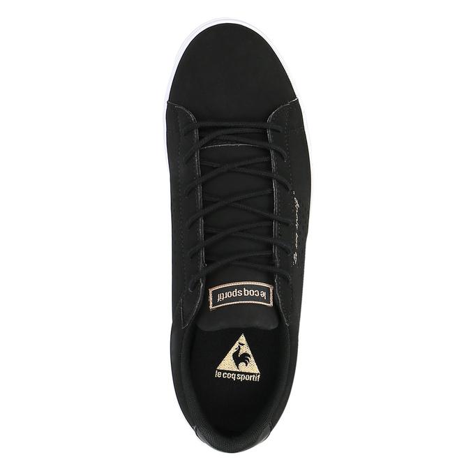 Čierne dámske tenisky le-coq-sportif, čierna, 501-6438 - 19