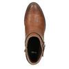 Členková obuv hnedá bata, hnedá, 591-4602 - 19