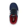 Detské tenisky v športovom dizajne adidas, modrá, 109-9141 - 19