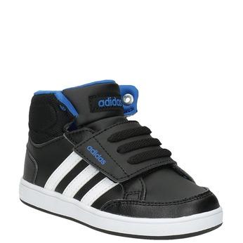 Detské členkové tenisky na suchý zips adidas, čierna, 101-6231 - 13
