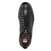 Ležérne kožené poltopánky comfit, čierna, 824-6767 - 19