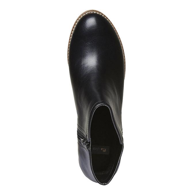 Členkové čižmy bata, čierna, 691-6271 - 19