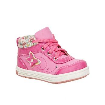 Detské členkové topánky mini-b, ružová, 121-5100 - 13