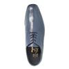 Pánske kožené poltopánky bata, modrá, 824-9669 - 19
