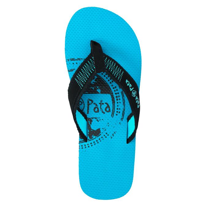 Pánske žabky pata-pata, modrá, 881-9601 - 19