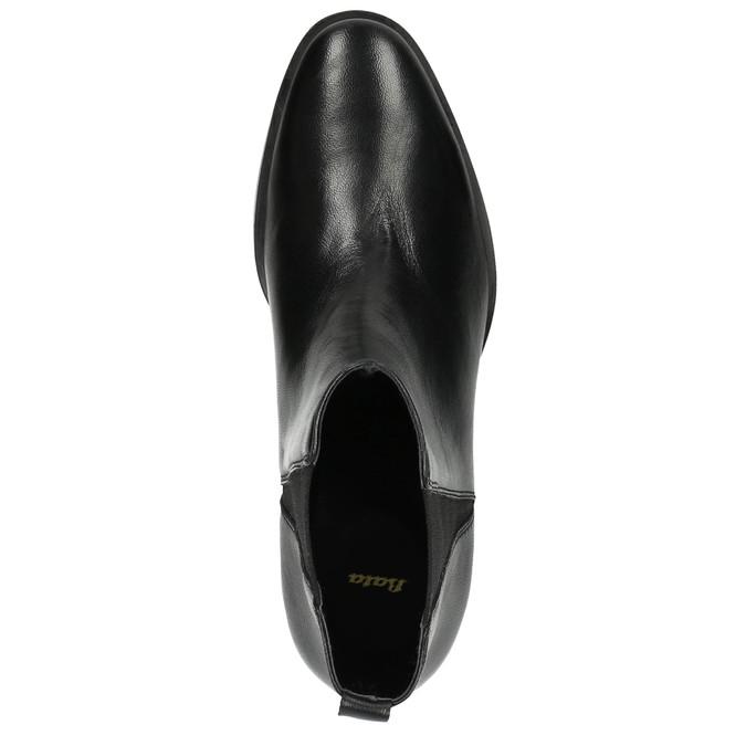 Dámske kožené Chelsea Boots bata, čierna, 596-6623 - 19
