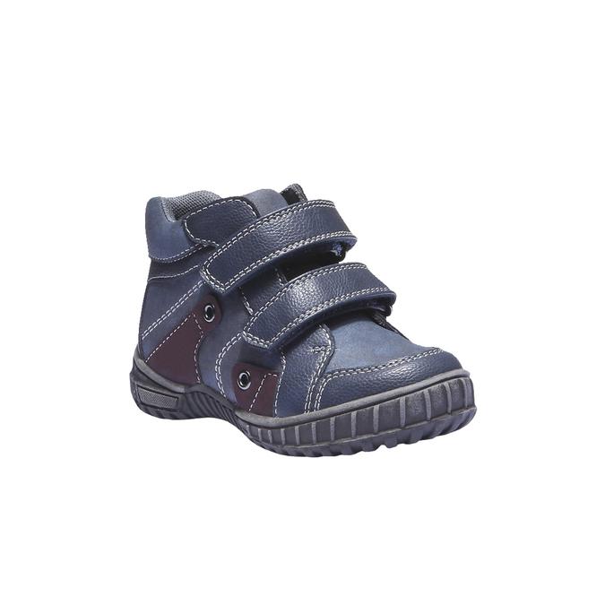 Detská obuv mini-b, modrá, 291-9136 - 13