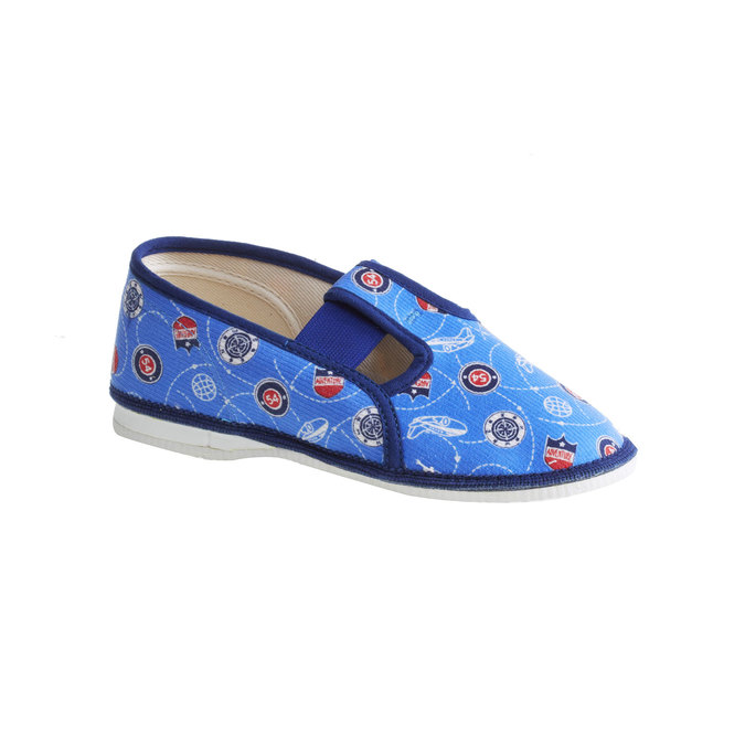 Detské papuče bata, modrá, 279-9011 - 13