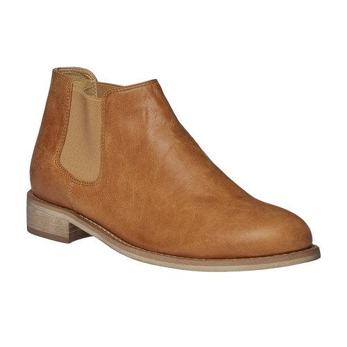 Kožené Chelsea Boots bata, hnedá, 594-3432 - 13