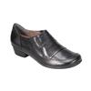 Dámska kožená obuv bata, čierna, 624-6113 - 13
