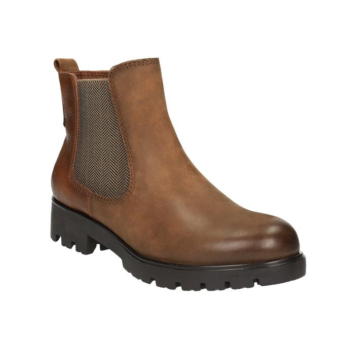 Dámska členková obuv bata, hnedá, 696-4606 - 13