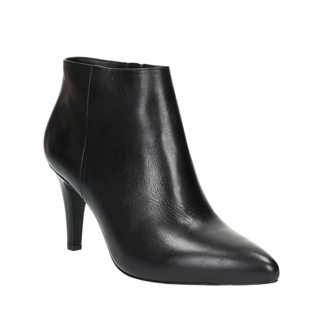 Dámska členková obuv insolia, čierna, 794-6629 - 13