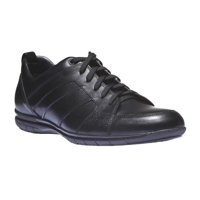 Kožené tenisky bata, čierna, 824-6351 - 13