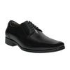 Čierne kožené poltopánky bata, čierna, 824-6724 - 13