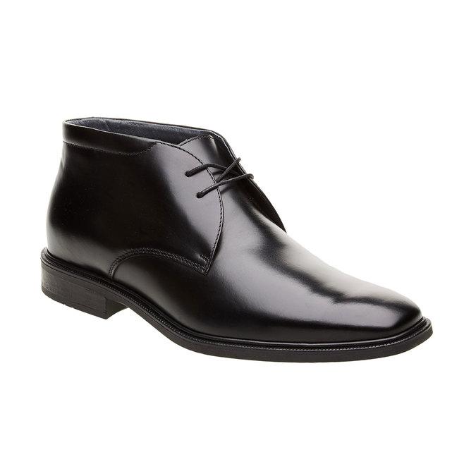 Kožené členkové topánky climatec, čierna, 894-6209 - 13