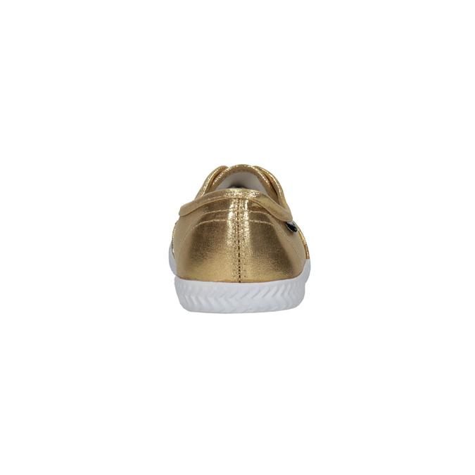 Zlaté dámske tenisky tomy-takkies, zlatá, 519-8690 - 17
