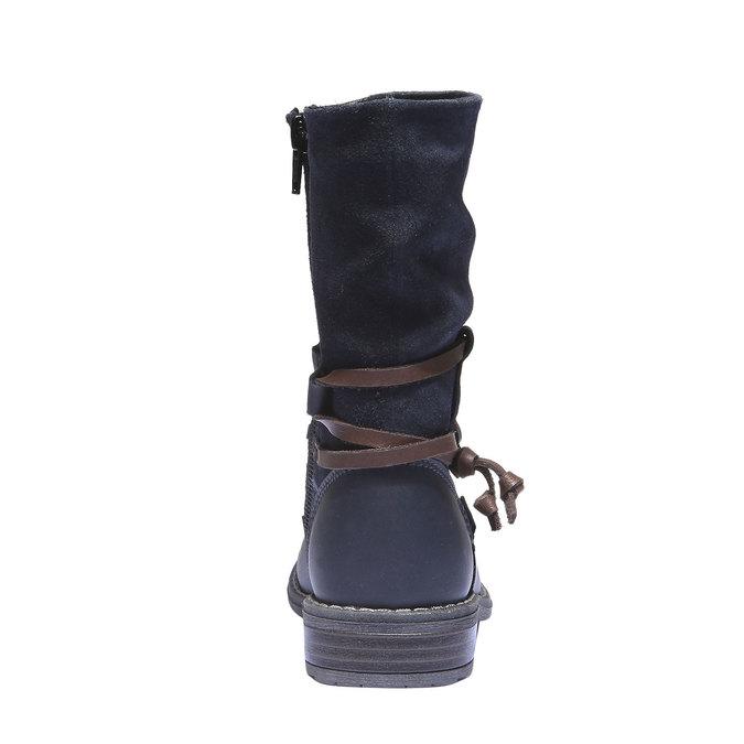 Detská obuv mini-b, modrá, 394-9100 - 17