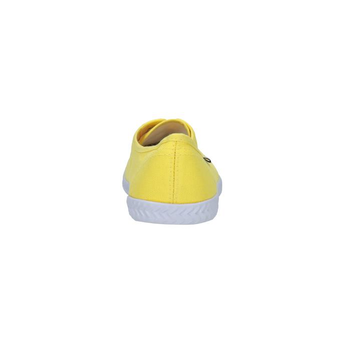 Žlté dámske tenisky tomy-takkies, žltá, 519-8691 - 17