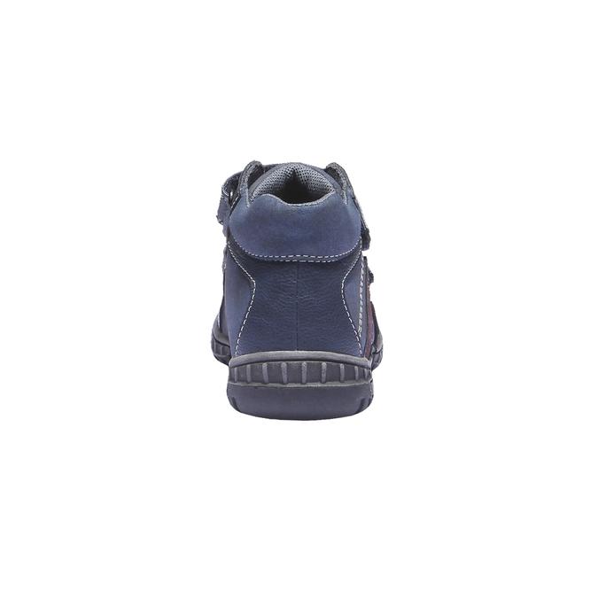 Detská obuv mini-b, modrá, 291-9136 - 17