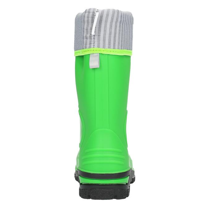 Detské zelené gumáky mini-b, zelená, 292-7200 - 17