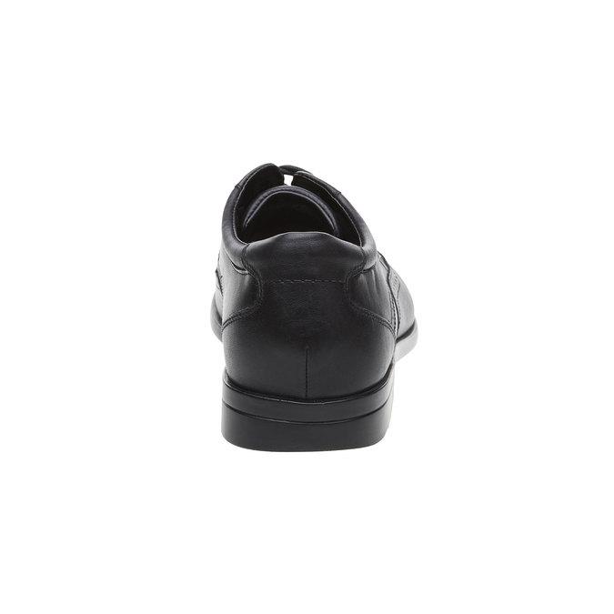 Kožené poltopánky rockport, čierna, 824-6125 - 17