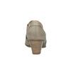 Kožená členková obuv bata, hnedá, 626-8102 - 17