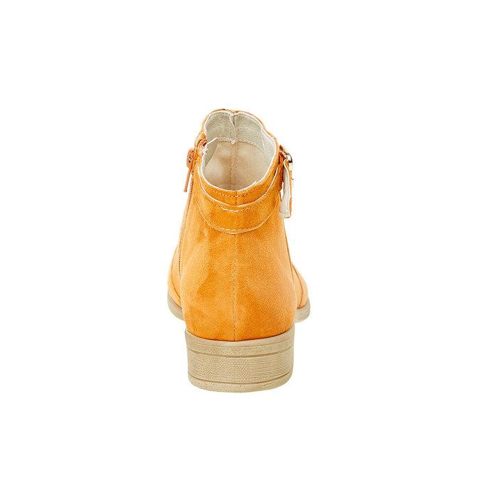 Členkové čižmy z brúsenej kože bata, hnedá, 593-3402 - 17