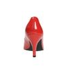 Dámske kožené lodičky insolia, červená, 728-5620 - 17