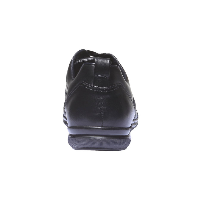 Kožené tenisky bata, čierna, 824-6351 - 17