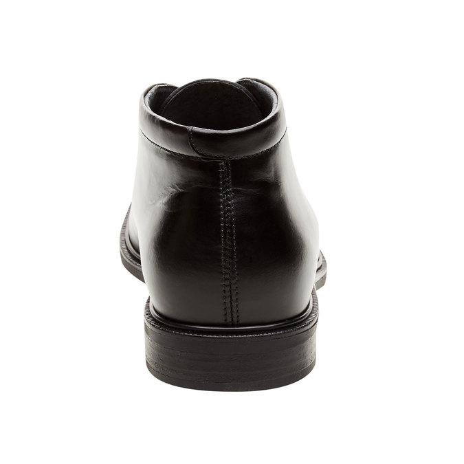 Kožené členkové topánky climatec, čierna, 894-6209 - 17